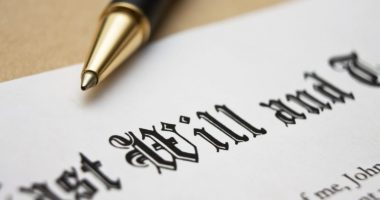 Document with the words Last Will with a pen for Wills, Probate and Trusts
